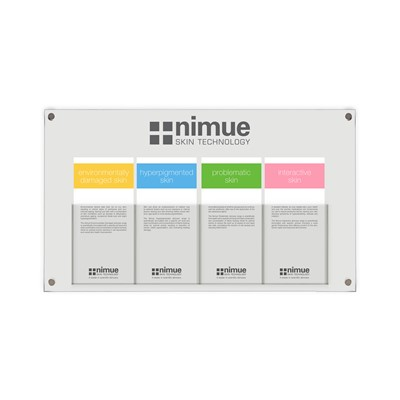 Nimue Wall Mounted Brochure Holder*