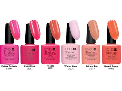 Shellac Hot Summer Six Color Collection