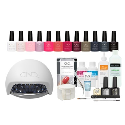 Shellac Starter Kit  w.LED lamp