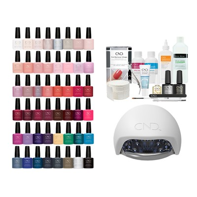 Shellac 48 Starter Kit  w.LED lamp