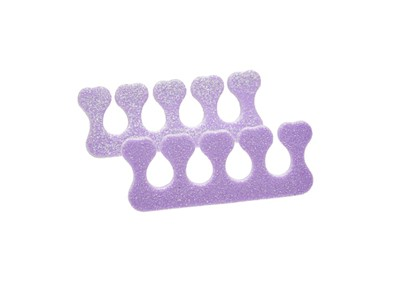 Toe Separator, Soft, Pink/Purple shimmer