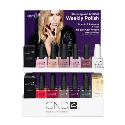 Color Me Purple VINYLUX Display