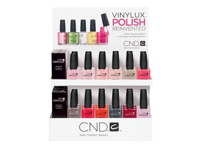 Vinylux Intro Top Display Pack