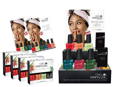 Rhythm & Heat VINYLUX Collection 2017