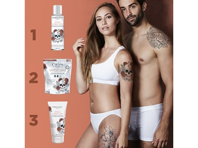 Tattoo Waxing, Sublim Contour Lotion NEW